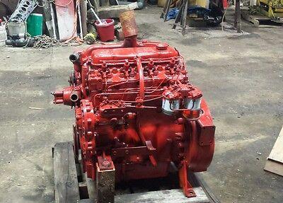 Perkins Diesel 236 4 Cylinder Diesel Chipper Massey Skid Steer Free Shipping