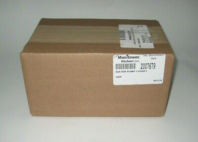 Manitowoc Water Pump Man2007679 Brand New Factory Seal Box