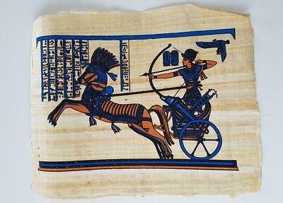 Sehr schönes Original Papyros Bild aus Ägypten