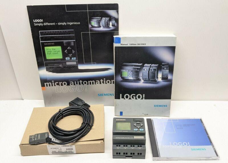 Siemens LOGO! 230RC Logic Module Manual