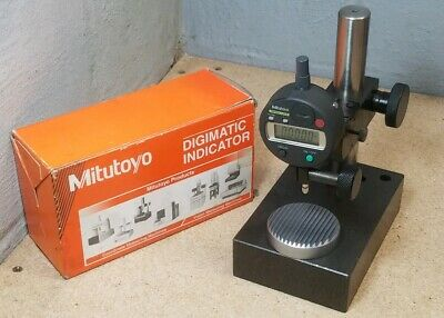 Mitutoyo No. 543-683 .500 Digimatic Indicator With Comparator Base Nice