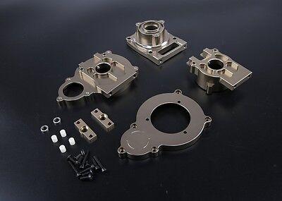Alloy CNC Center Differential case Titanium for Losi 5ive - Titanium Differential