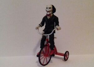 NECA - SAW - Billy the Puppet on Tricycle Figure  MINT