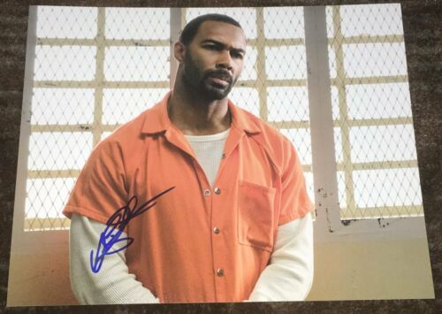 OMARI HARDWICK SIGNED AUTOGRAPH POWER GHOST 8x10 PHOTO A w/EXACT PROOF