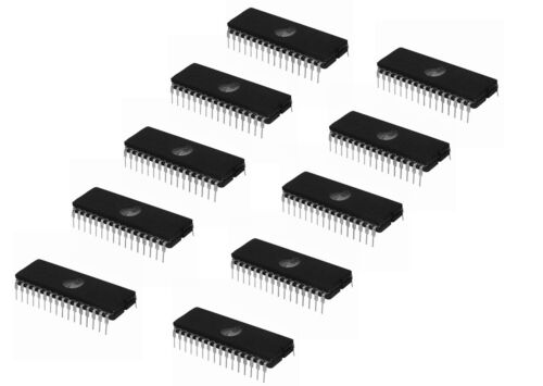 10Pcs M27C4001-10F1 27C4001 St Eprom Uv 4Mbit 100Ns 32Cdip US Stock N258