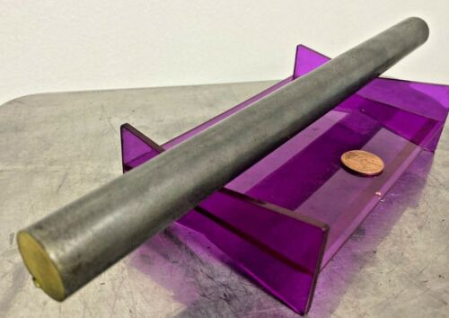 "1018 Steel Bar, Cold Drawn Round .812"" (13/16"") x 12"" length"