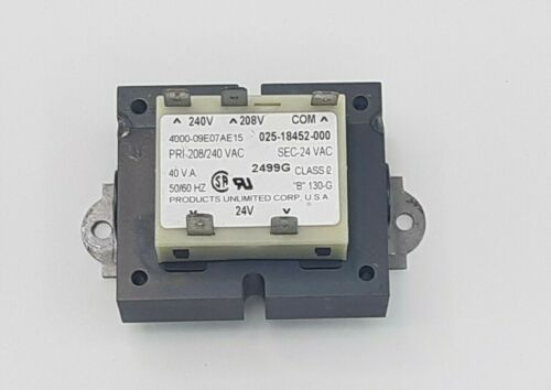 Used Products Unlimited Tyco Transformer 4000-09E07AE15  240 V 208 V TO 24 V