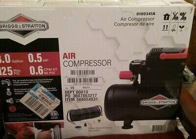 Briggs And Stratton Air Compressor 3.0 Gal. .05 Hp
