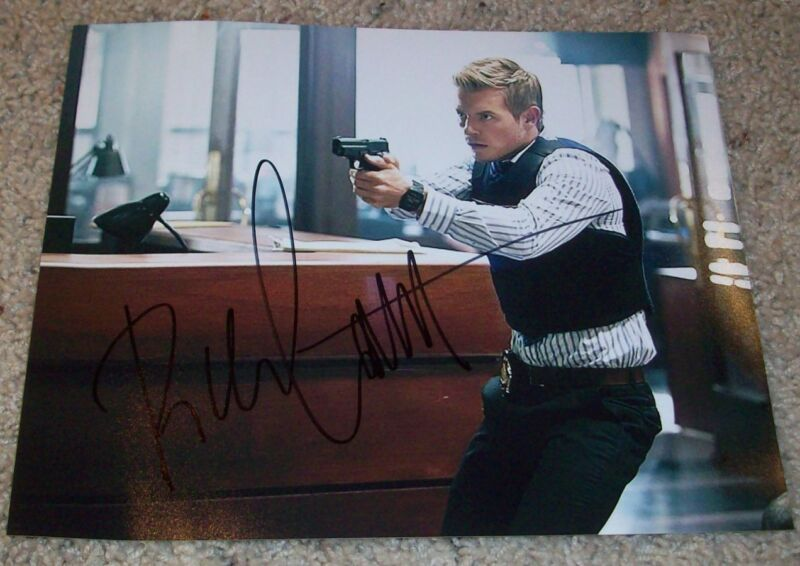 RICK COSNETT SIGNED AUTOGRAPH THE FLASH 8x10 PHOTO B w/EXACT VIDEO PROOF
