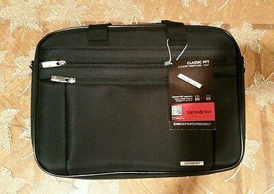 """Samsonite 2 Gusset Briefcase-15.6""""  Classic PFT"""