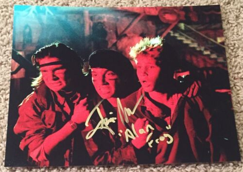 JAMISON NEWLANDER SIGNED AUTOGRAPH THE LOST BOYS ALAN FROG 8x10 PHOTO F w/PROOF
