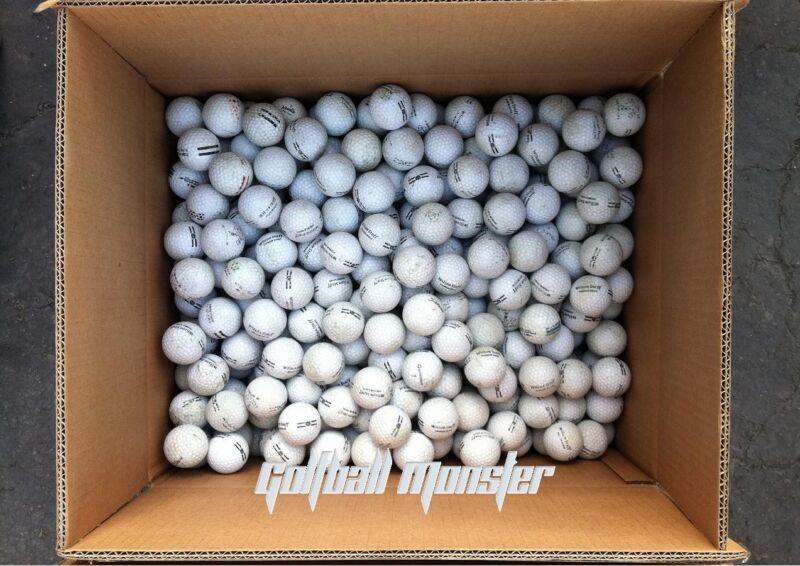 600 Used Range Balls Hit Away Golf Ball Practice Shag Bag D Grade AA