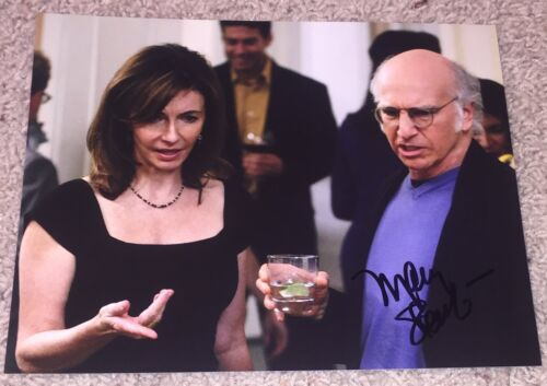 MARY STEENBURGEN SIGNED AUTOGRAPH CURB YOUR ENTHUSIASM 8x10 PHOTO w/EXACT PROOF