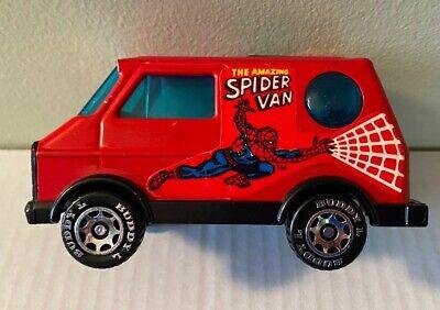 Vintage 1984 Buddy L Spider Van Spider-Man Van Preowned