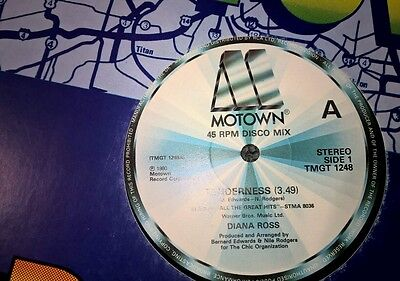 "DIANA ROSS Tenderness + 15 minute hits medley UK 12"" single 1980"