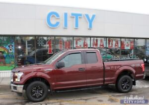 "2015 Ford F-150 4x4 SuperCab 145"" XLT"