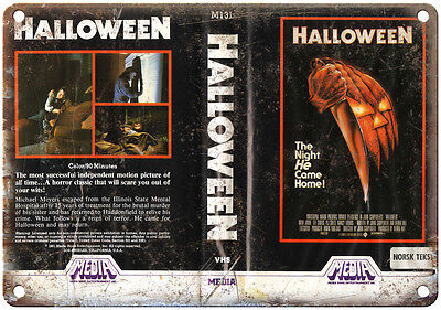 1981 - Halloween Movie VHS Cover 10