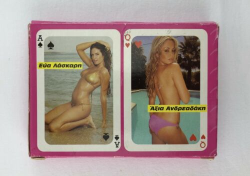 Vintage 108 Adult Playing Cards  - 2 decks. 1980