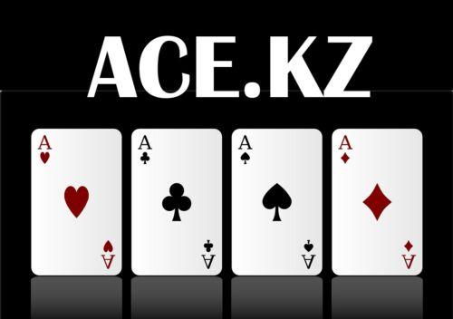 3-letters premium domain name ACE.KZ