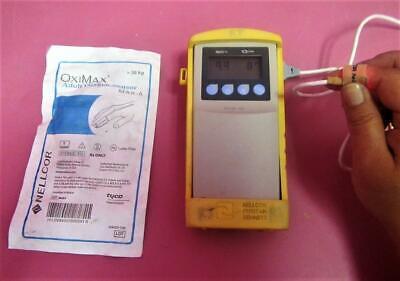 Nellcor Puritan Bennett Npb-40 Spo2 Monitor Pulse Oximeter W Sensor Case