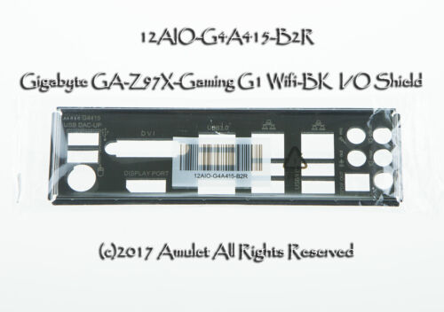 1pc  I/O Shield for   Gigabyte GA-Z97X-Gaming G1 Wifi-BK   f