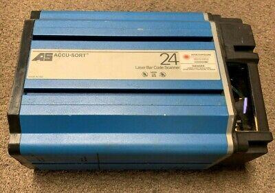 Accu-sort 24 Series Ii Drx Long Range Laser Barcode Scanner 24i Install Software