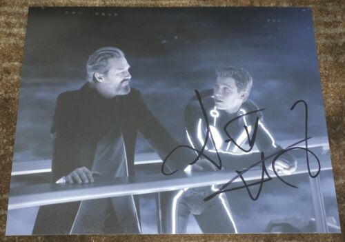 GARRETT HEDLUND SIGNED AUTOGRAPH TRON LEGACY TROY PAN HOOK 8x10 PHOTO N w/PROOF