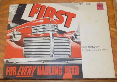 1942 Vehicle Brochure///GMC TRUCKS