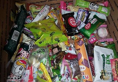 50 individual small Japanese Korean candy snacks kit kats matcha lot gift set