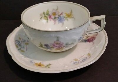 Vintage Rosenthall SANSSOUCI Floral Demitasse Cup and Saucer
