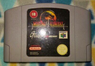 Mortal Kombat 4 Nintendo 64 / N64 Pal