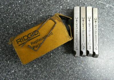 Rigid One Setpipe Dies 1-2 Replacement Partsleft Handed