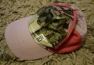 GIRLS Sz ONE SIZE pink & black ONE DIRECTION hat CUTE! COOL! 1D!