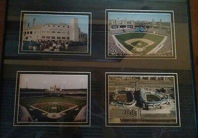 Stadium Comiskey Park Chicago White Sox 4 Framed Photo Picture Set ()