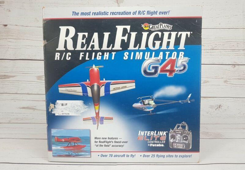 Great Planes GPMZ4430 RC Real Flight Simulator G4.5 Software Futaba Controller