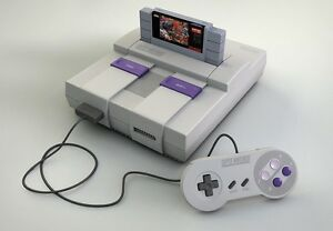 LOOKING for a Super Nintendo Console