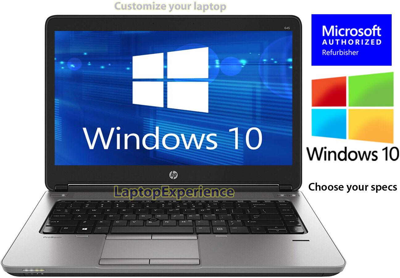 Laptop Windows - HP LAPTOP PROBOOK WINDOWS 10 DUAL CORE A4 8GB RAM 512GB HD SSD WIFI PC COMPUTER