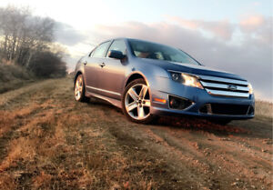 Ford Fusion 2010 Awd Sports