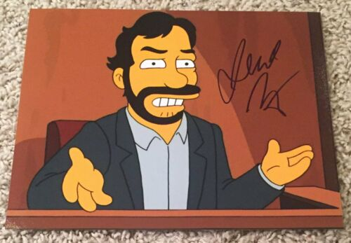 JUDD APATOW SIGNED AUTOGRAPH THE SIMPSONS 8x10 PHOTO B w/EXACT PROOF