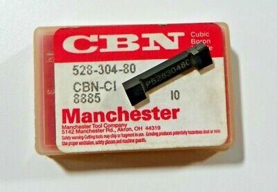 1 Piece Manchester 528-304-80 Cbn Carbide Inserts  H486