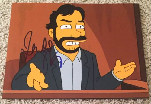 JUDD APATOW SIGNED AUTOGRAPH THE SIMPSONS 8x10 PHOTO A w/EXACT PROOF