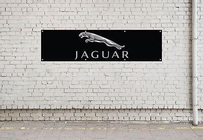 JAGUAR workshop, garage, office or showroom pvc banner