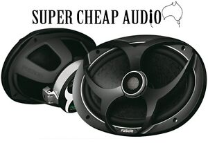 NEW FUSION PP-FR6920 POWER PLANT SEREIS 6X9 CAR SPEAKERS 480W BASS 6 X 9 2 WAY
