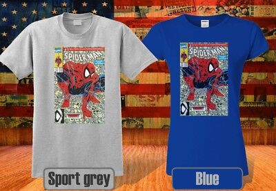 COMICS T-SHIRT SPIDER-MAN INSPIRED FOR COOL &WOMEN MEN GP1 - Spiderman T Shirts For Adults