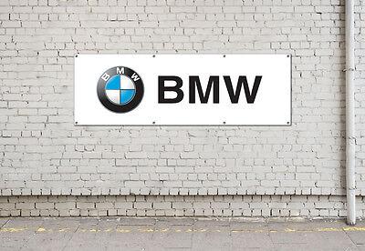 BMW logo sign for workshop, garage, office or showroom pvc banner