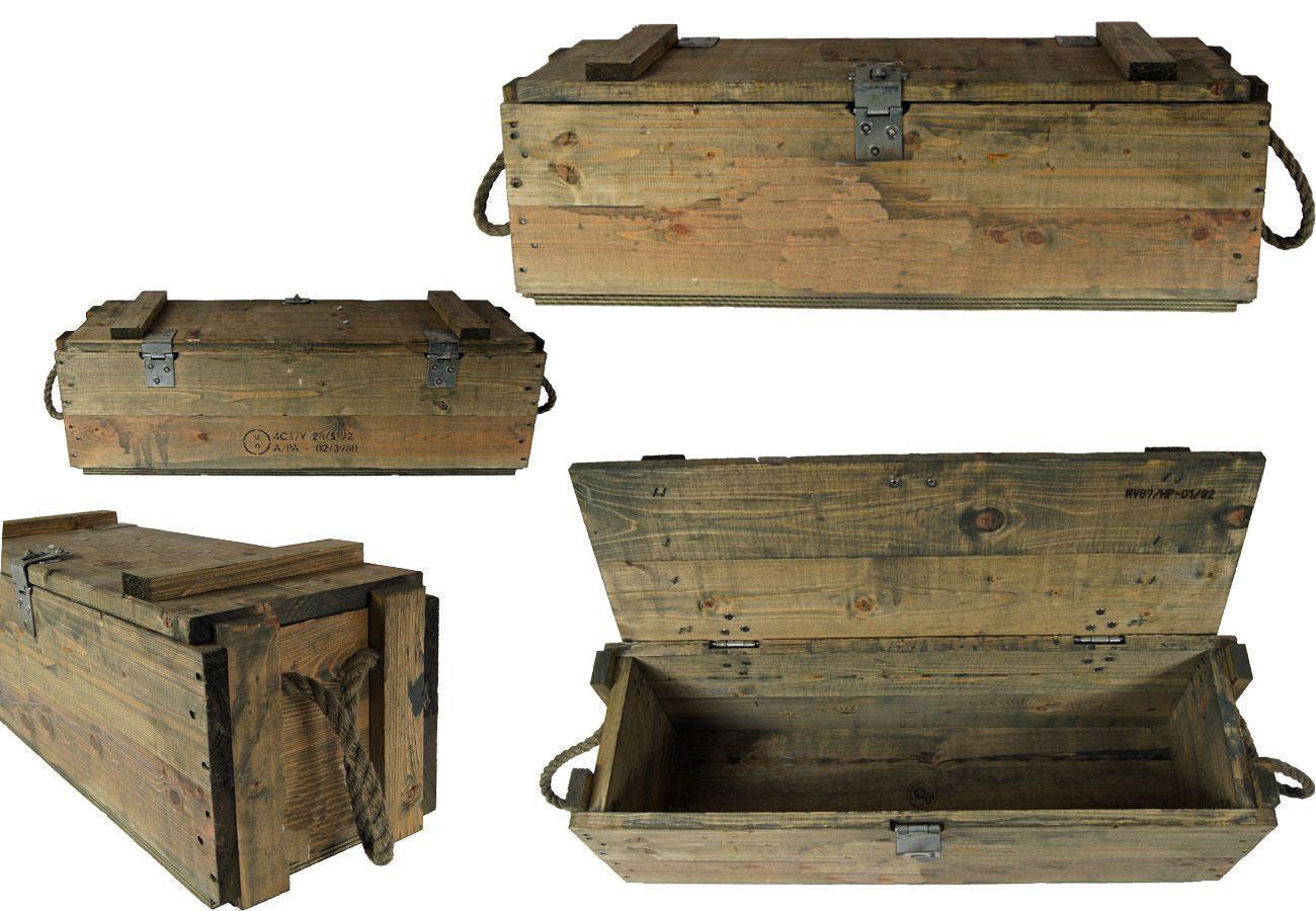 Lagerbox guter Zustand Bundeswehr Kiste 4 x GFK Box Transportkiste