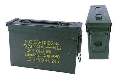US Munitionskiste Größe 1 oliv gebrauch Box Transportbox Werkzeugbox 27,5x8,5x18