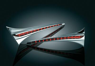 GL1800 HONDA GOLDWING 2006-2017 LED TRUNK TURN SIGNAL INDICATOR ACCENT SWOOP