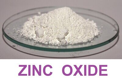 200g Zinc Oxide - Fine White Powder 99.5% - Cosmetic / Pharma Grade