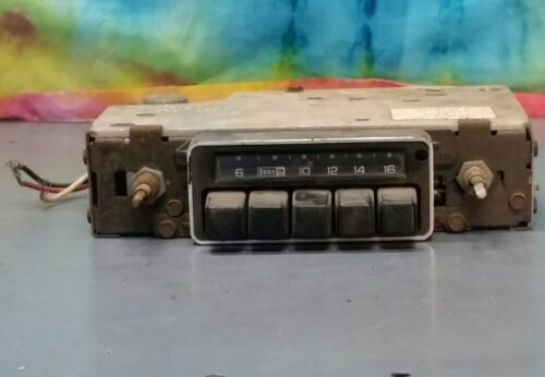Delco Radio AM part no. 9348321 without Knobs L1